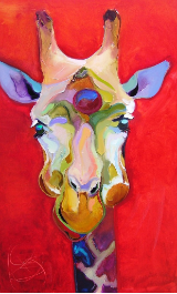 BOB RANSLEY RED GIRAFFE
