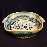 "RAY POTTERY "" LASAGNA "" BLUE"