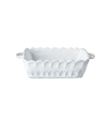 "VIETRI "" SMALL SQUARE BAKING DISH "" LACE"