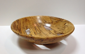 "BOB SCHRADER "" SPALTED MAPLE BOWL """