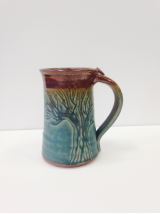 WILL BYERS MUG WITH TREE DESIGN