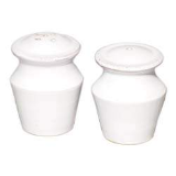 VIETRI BIANCO SALT AND PEPPER SET