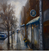 "CHERYL KEEFER "" A WALK IN THE RAIN """