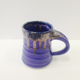 "CORNELL ART POTTERY "" PURPLE MUG """
