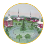 "P. BUCKLEY MOSS ORNAMENT "" CHURCH CIRCLE""  # 006/200"