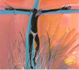 "P. BUCKLEY MOSS GICLEE "" FOR OUR SINS "" SMALL"