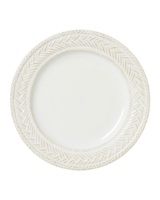 "JULISKA "" LE PANIER WHITEWASH DINNER PLATE """