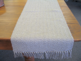 NATURAL HONEYCOMB TABLE RUNNER