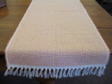 MULTI COLOR PEACH TABLE RUNNER