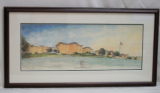 "LORRAINE BREWER FRAMED PRINT "" DOBYNS BENNETT HIGH SCHOOL """