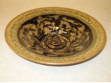 RAY POTTERY BLACK INDIVIDUAL PASTA BOWL
