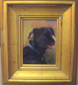 """GRACIE STUDY"" BY V. VAUGHAN FRAMED"