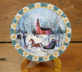 "P. BUCKLEY MOSS ORNAMENT "" CHRISTMAS NIGHT """