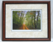 "KENNETH MURRAY PHOTOGRAPHY "" DIRT ROAD "" FRAMED"