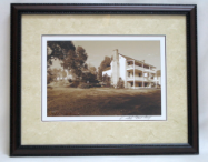 "KENNETH MURRAY PHOTOGRAPHY "" THE NETHERLAND INN II "" SEPIA - FRAMED"