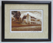 "KENNETH MURRAY PHOTOGRAPHY "" THE NETHERLAND INN I "" SEPIA - FRAMED"