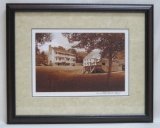 "KENNETH MURRAY PHOTOGRAPHY "" THE NETHERLAND INN & BOATYARD II "" SEPIA - FRAMED"