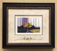 "P. BUCKLEY MOSS  "" CENTERPIECE "" FRAMED"