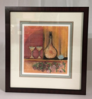 "P. BUCKLEY MOSS "" APERITIF "" FRAMED"