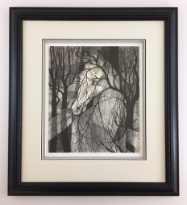 "P. BUCKLEY MOSS "" WOODLAND SPIRIT "" FRAMED"