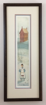 "P. BUCKLEY MOSS "" IN THE MEADOW "" FRAMED"