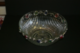 WIRED GLASS SERVING BOWL