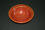 KIMBERLY GREY POTTERY ORANGE BOWL