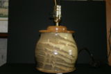 PAUL GASKINS TAN LAMP