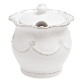 "JULISKA "" LIDDED SUGAR BOWL """