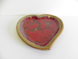 RAY POTTERY LARGE HEART PLATE