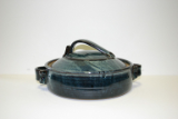 KIMBERLY GREY COVERED CASSEROLE DISH