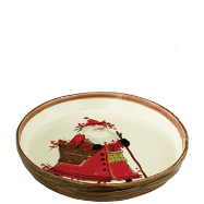 VIETRI OLD ST. NICK ROUND BAKING DISH