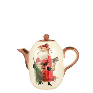VIETRI OLD ST. NICK HOT CHOCOLATE - COFFEE POT