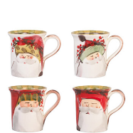 VIETRI OLD ST. NICK MUG - ASSORTED