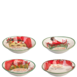 VIETRI OLD ST. NICK OVAL BOWL - ASSORTED