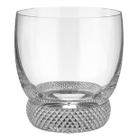 VILLEROY & BOCH OCTAVIE CRYSTAL DOUBLE OLD FASHION GLASS