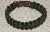 PARACORD SURVIVAL ANKLE BRACELET OR XL BRACELET - OLIVE DRAB