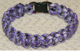 PARACORD SURVIVAL BRACELET PURPLE PASSION