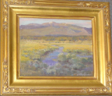 """WINTER PARK MORNING"" BY V. VAUGHAN FRAMED"