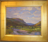 """CONEJOS SKY"" BY V. VAUGHAN FRAMED"