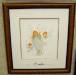 "P. BUCKLEY MOSS FRAMED PRINT "" OUR LITTLE ANGELS """
