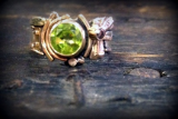 "KYLE LEISTER "" PERIDOT RING """