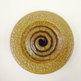 "RAY POTTERY "" SPIRAL SALAD PLATE """