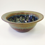 "RAY POTTERY "" MEDIUM SERVING BOWL """