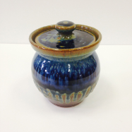 "RAY POTTERY "" SUGAR BOWL """