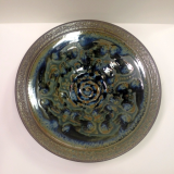 "RAY POTTERY "" PLATTER/PASTA BOWL """