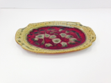 "RAY POTTERY "" CHEESE PLATE """