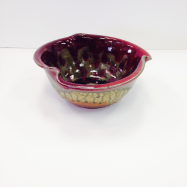 "RAY POTTERY "" MEDIUM TULIP BOWL """