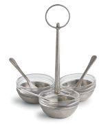 ARTE ITALICA TAVOLA HORS D'OEVRE DISH WITH SPOON