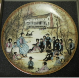 "P. BUCKLEY MOSS COLLECTOR PLATE  "" THE STORYTELLER """